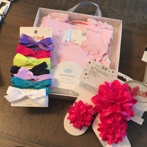 Other - Baby Girl's pk of 3 Bundle Newborn gift sets